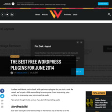 The best free WordPress plugins for June 2014