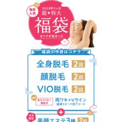 100円で両ワキとVライン完了♪