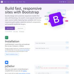 Bootstrap 無料で出来るホームページ制作 システム開発ツールとフリー素材の Log House