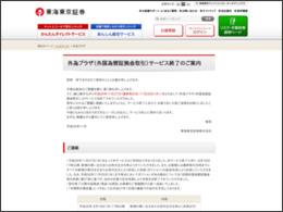外為プラザ | 東海東京証券