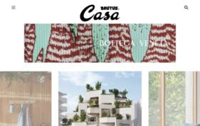 CasaBrutus.comの媒体資料