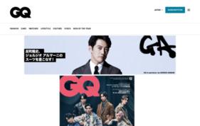GQ JAPAN WEBの媒体資料