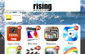 rising magazineの媒体資料