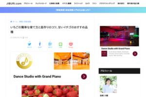 苺ソムリエ直伝!美味しいイチゴの苗の作り方&簡単な育て方&甘い実の見分け方&おすすめの食べ方 | JIBURi.com