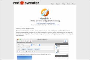http://www.red-sweater.com/marsedit/