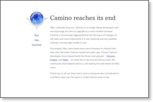 http://caminobrowser.org/
