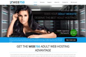 Web750 ジャパン 格安高性能レンタルサーバー サイトのキャプチャー画像