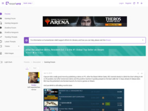 https://www.resetera.com/threads/after-the-positive-demo-resident-evil-2-is-the-1-global-top-seller-on-steam.92986/