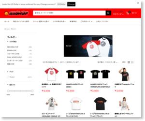 新日本プロレス闘魂SHOPTシャツ