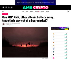 Can XRP, XMR, other altcoin holders swing trade their way out of a bear market? - AMBCrypto