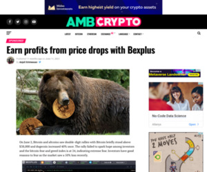 Earn profits from price drops with Bexplus - AMBCrypto