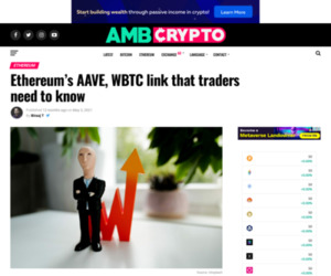 Ethereum's AAVE, WBTC link that traders need to know - AMBCrypto