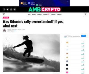 Was Bitcoin's rally overextended? If yes, what next - AMBCrypto