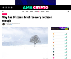 Why has Bitcoin's brief recovery not been enough - AMBCrypto
