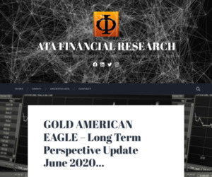 GOLD AMERICAN EAGLE – Long Term Perspective Update June 2020… – ATA FINANCIAL RESEARCH