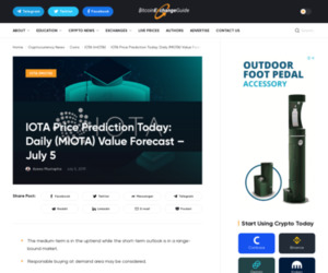 IOTA Price Prediction Today: Daily (MIOTA) Value Forecast – July 5