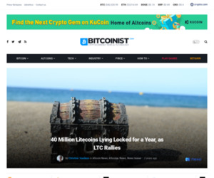 40 Million Litecoins Lying Locked for a Year, as LTC Rallies