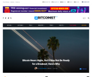 Bitcoin Nears Highs, But It May Not Be Ready for a Breakout; Here's Why