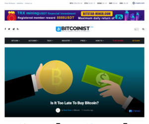 Is It Too Late To Buy Bitcoin And Other Cryptocurrencies?