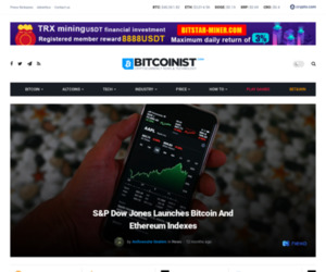 S&P Dow Jones Launches Bitcoin And Ethereum Indexes   Bitcoinist.com