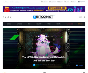 The NFT Bubble Has Burst, but BTC and Co. Are Still the Best Buy | Bitcoinist.com