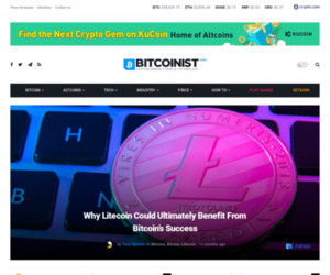 Why Litecoin Could Ultimately Benefit From Bitcoin's Success