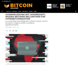 Nigeria, Hyperbitcoinization Ground Zero %%page%% %%sep%% %%sitename%% - Bitcoin Magazine: Bitcoin News, Articles, Charts, and Guides