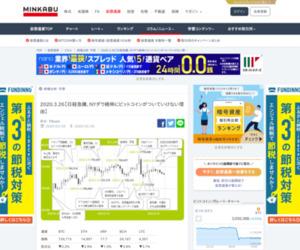 2020.3.26【日経急騰、NYダウ続伸にビットコインがついていけない理由】 | みんなの仮想通貨