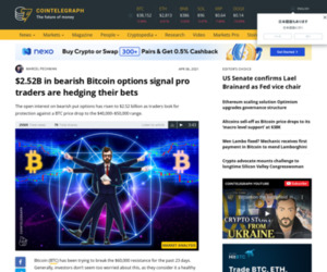 $2.52B in bearish Bitcoin options signal pro traders are hedging their bets