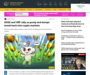 DOGE and XRP rally as pump and dumps sneak back into crypto markets