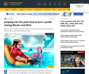 Jumping into the pool: How to earn a profit mining Bitcoin and Ether