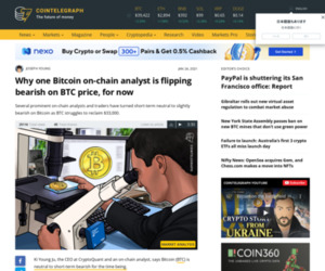 Why one Bitcoin on-chain analyst is flipping bearish on BTC price, for now
