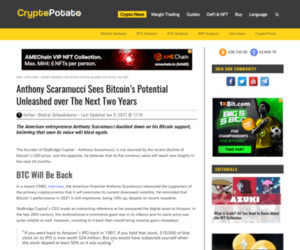 Anthony Scaramucci Sees Bitcoin's Potential Unleashed over The Next Two Years