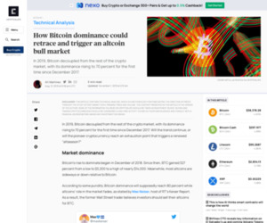 How Bitcoin dominance could retrace and trigger an altcoin bull market | CryptoSlate