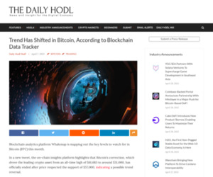 Trend Has Shifted in Bitcoin, According to Blockchain Data Tracker | The Daily Hodl