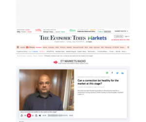 ETMarkets Investors Guide: ETMarkets Investors'Guide: Can a correction be healthy for the market at this stage? | The Economic Times Podcast