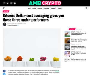 Bitcoin: Dollar-cost averaging gives you these three under-performers - AMBCrypto