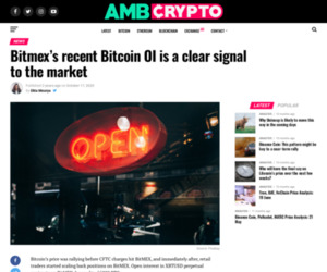 Bitmex's recent Bitcoin OI is a clear signal to the market - AMBCrypto