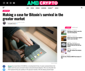Making a case for Bitcoin's survival in the greater market - AMBCrypto