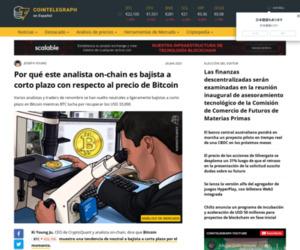 Por qué este analista on-chain es bajista a corto plazo con respecto al precio de Bitcoin