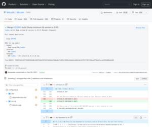 Merge #21286: build: Bump minimum Qt version to 5.9.5 · bitcoin/bitcoin@e52ce9f · GitHub