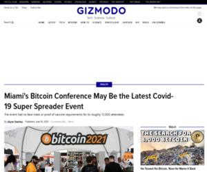 Miami Bitcoin Congoers Report Testing Positive for Covid