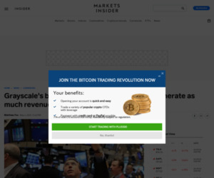 Grayscale's bitcoin and Ethereum funds now generate as much revenue as Vanguard's 82 ETFs | Currency News |  Financial and Business News | Markets Insider