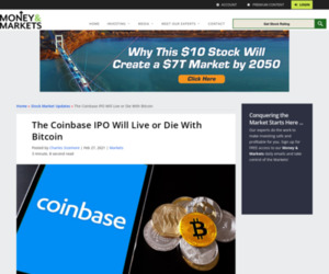 The Coinbase IPO Will Live or Die With Bitcoin (BTC)