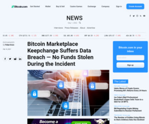 Bitcoin Marketplace Keepchange Suffers Data Breach — No Funds Stolen During the Incident – Exchanges Bitcoin News