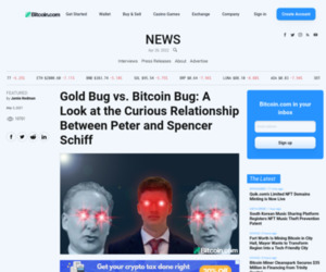 Gold Bug vs. Bitcoin Bug: A Look at the Curious Relationship Between Peter and Spencer Schiff – Featured Bitcoin News
