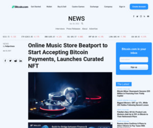 Online Music Store Beatport to Start Accepting Bitcoin Payments, Launches Curated NFT – News Bitcoin News