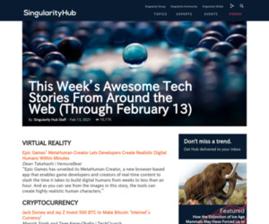 This Week's Awesome Tech Stories From Around the Web (Through February 13)