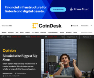 Michael Casey: Bitcoin Is the Biggest Big Short - CoinDesk