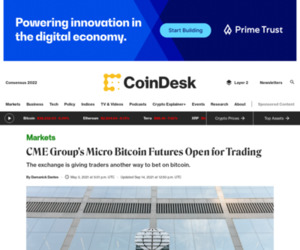 CME Group's Micro Bitcoin Futures Open for Trading - CoinDesk